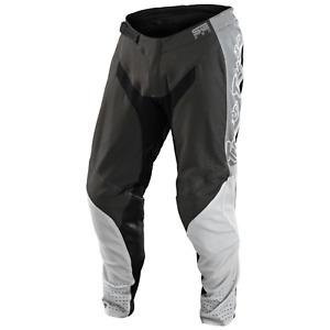 Troy Lee Designs SE PRO Pants Tld Mx Motocross Dirt Bike Atv Gear QUATTRO GRAY