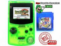 Super Mario Land 2 DX (New Ver-1.81 2019) COLOR MOD Nintendo Game Boy GBC (USA)