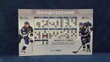 NHL Tampa Bay Lightning 2015 Team Hockey Magnet Schedule