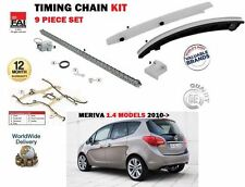 FOR VAUXHALL OPEL MERIVA B 1.4 A14NET A14NEL + LPG 2010-> TIMING CAM CHAIN KIT
