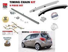 Per Vauxhall Opel Meriva B 1.4 A14NET a14nel + GPL 2010 - > CAM TIMING CHAIN KIT
