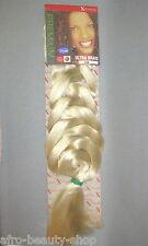 X-PRESSION Ultra Braid Synthetik Hair zum Flechten -Rasta Curls Styles