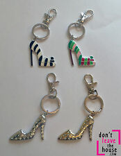 Metal Shoes & Bags Themed Keyrings for Women