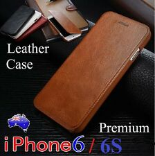 Premium Luxury Leather Card Slim Case Cover For iPhone 6/6S(4.7inch)(Gift Box)