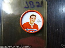 SHIRRIFF METAL COIN 1962-63  NO 32 JEAN BELIVEAU MONTREAL CANADADIEN  JB21