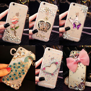 Luxury Bling Glitter Diamond Rhinestone Case Cover for iPhone 12 Pro Max 11 XR 8