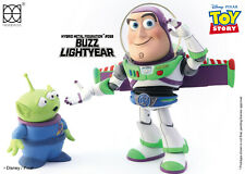 "HEROCROSS HMF #068 Disney Toy Story Buzz Lightyear Hybrid Metal 6"" Action Figure"