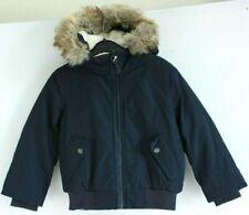 Bench NEW Dark Blue Long Sleeve Zip Up Hooded Boy Jacket Size 3/4y 104cm