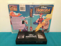 Hercules :  zero to hero   VHS tape & clamshell case FRENCH