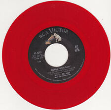 "ELVIS PRESLEY - Bossa Nova Baby ( red vinyl) 7"" 45*"