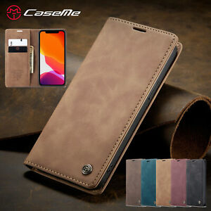 Magnetic Wallet Case Flip Leather Cover For iPhone 13 12 Pro Max 11 XS XR 8 76+