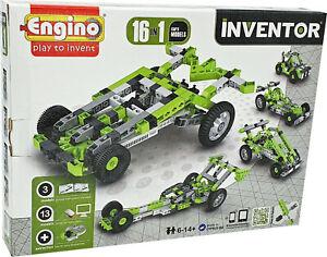 Engino® INVENTOR »16 in 1« Cars Models Konstruktionsbausatz Baukasten Bausatz