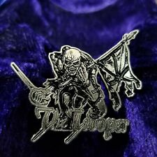 Iron maiden the trooper  PIN BADGE