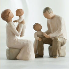 Willow Tree Grandparents with Two Grandchildren Figurine Gift Set Family Group
