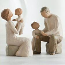 Willow Tree Grandparents with 2 Grandchildren Figurine set in Gift BOX  23091