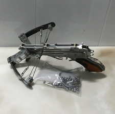 Powerful Mini Crossbow Stainless Steel Shooting Toy Including Arrow & Steel Ball