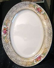 More details for fabulous classic palissy platter approx 14ins long x 11ins wide great item