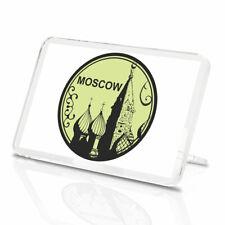 RUSSIE MOSCOU Vinyle Classique aimant de réfrigérateur-Superbe carré rouge cool cadeau #5862