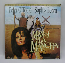 MAN OF LA MANCHA - LASER DISC - DOLBY SURROUND - PETER O'TOOLE SOPHIA LOREN