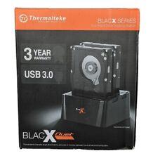 """Thermaltake BlacX Duet 2.5/3.5"""" SATA USB 3.0 External Hard Drive Docking Station"""
