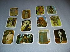 DR. WHO - 1976 Ty Phoo Card Set        The amazing World of Doctor Who