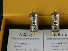 Matched Pair New Tested 12AT7-T ECC81 ShuGuang Sounds Of Nature Vacuum Tubes