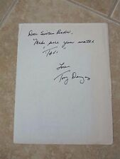 Tony Danza Taxi Signed Autographed Hand Written Letter To 16 Mag PSA Guarantee 2