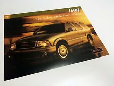 1998 GMC Envoy Launch Information Card Brochure