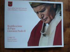 POCHETTE EURO BEATIFICATION DU PAPE JEAN PAUL II