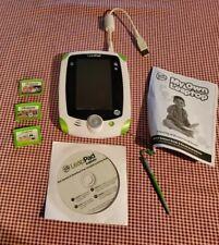 LeapPad Explorer electronic hand-held learning system tablet LeapFrog & 3 games