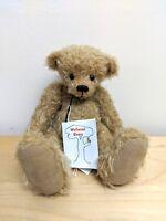 "Wellwood Bears ""Crumble"" By Ruth Dickinson  5 of 6  German Mohair  23cm  Ltd Ed"