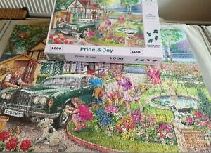 PRIDE & JOY 1000 PIECE JIGSAW PUZZLE by HOUSE OF PUZZLES LTD - COMPLETE