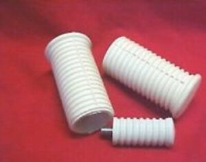 Harley, Sportster ,57-70 Classic White foot pegs & shift rubber long stud
