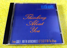Felicia Adams - Thinking About You ~ Music CD ~ Rare Motown Promo Promotional