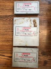 Vtg Danco Quality Plumbing Repair Parts Kit 3 Boxes O Rings Index Buttons Bath