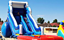 40x15x20 Commercial Inflatable Water Slide Combo Bounce House Castle Trampoline
