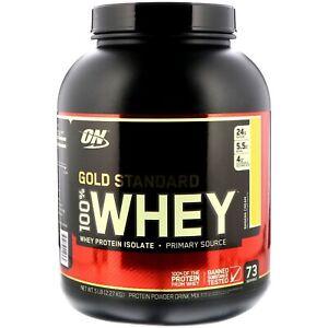 Optimum Nutrition Gold Standard 100% Whey Protein Banana Cream 5 Lb