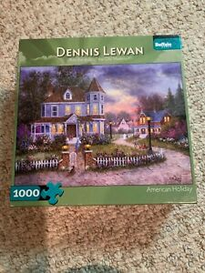 """Buffalo Games """"American Holiday"""" """"NEW"""" 1000 Piece Puzzle"""