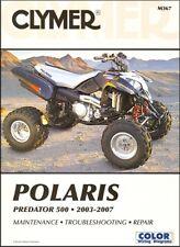 2003-2007 Polaris Predator 500 Quad ATV CLYMER REPAIR MANUAL M367