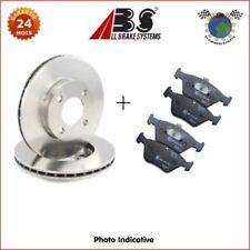 Kit disques et plaquettes de frein avant Abs CITROEN C15 ZX PEUGEOT 306 106