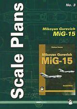 Mushroom Model Scale Plans No. 3: Mikoyan Gurevich MiG-15