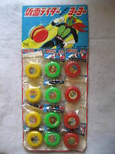 vintage Japan Kamen Rider lenticular Yoyo complete Store Display Yo-Yo toys Rare