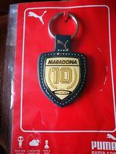 More details for diego maradona 🇬🇹leather keyring official merchandise napoli argentina & boca