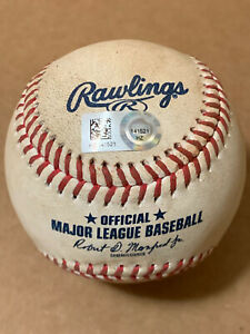 Shohei OHTANI - Authenticated Game Used PITCHED Splitter Baseball-6/19/21-Angels
