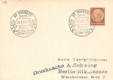 321610) DR SST Blg. St. Ingbert Saar Gr. Kinderfestzug 1937