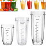 18/24/32OZ Juicer Cup Clear Mug Replacement For Nutri Ninja 900W 1000W Blender