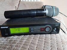 shure slx4 wireless radio mic