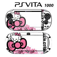 Vinyl Decal Skin Sticker for Sony PS Vita PSV 1000 Cute Kitty Pink Bow Princess