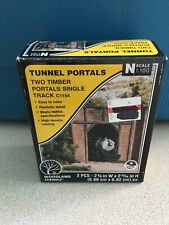 Woodland N Scale Tunnel Portals