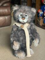 Charlie Bears Mohair Ltd Ed Standing Bear SYLVESTER (SJ5541) 257/400 - With Tags